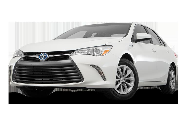 White Toyota Camry Standard